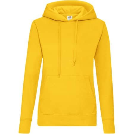 Classic Hooded Sweat Lady-Fit von Fruit of the Loom (Artnum: F409