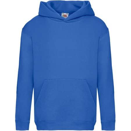 Premium Hooded Sweat Kids in Royal Blue von Fruit of the Loom (Artnum: F421K