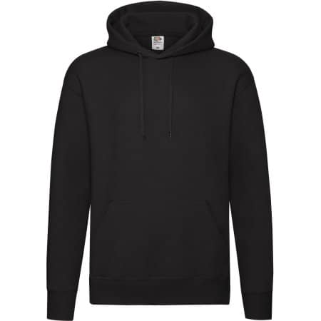 Premium Hooded Sweat in Black von Fruit of the Loom (Artnum: F421N