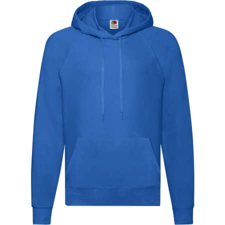 Lightweight Hooded Sweat in Royal Blue von Fruit of the Loom (Artnum: F430