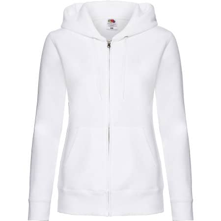 Premium Hooded Sweat Jacket Lady-Fit von Fruit of the Loom (Artnum: F440N