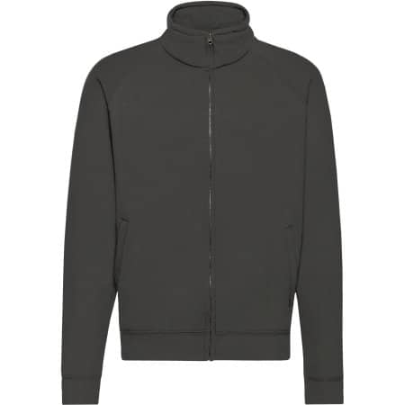 Classic Sweat Jacket in Light Graphite (Solid) von Fruit of the Loom (Artnum: F457N
