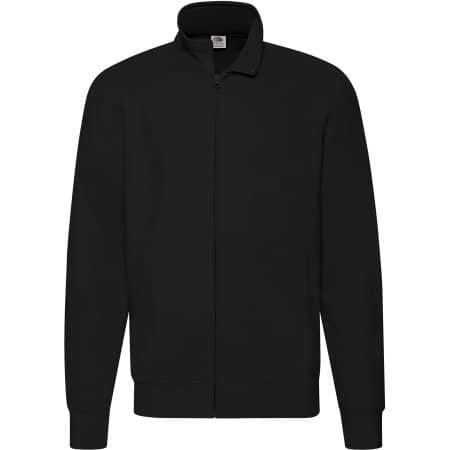 New Lightweight Sweat Jacket in Black von Fruit of the Loom (Artnum: F460