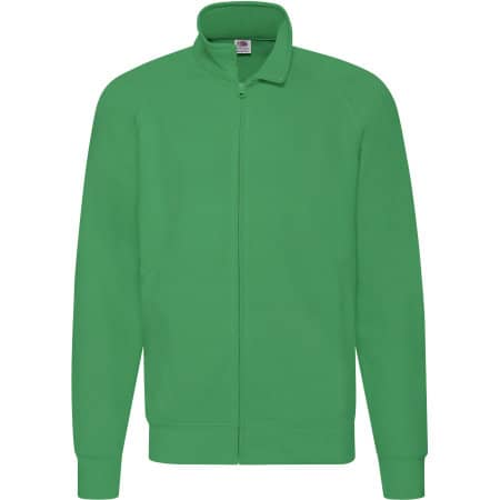 New Lightweight Sweat Jacket in Kelly Green von Fruit of the Loom (Artnum: F460