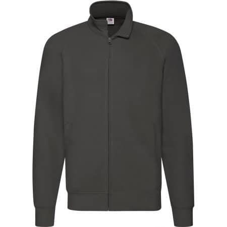 New Lightweight Sweat Jacket in Light Graphite (Solid) von Fruit of the Loom (Artnum: F460