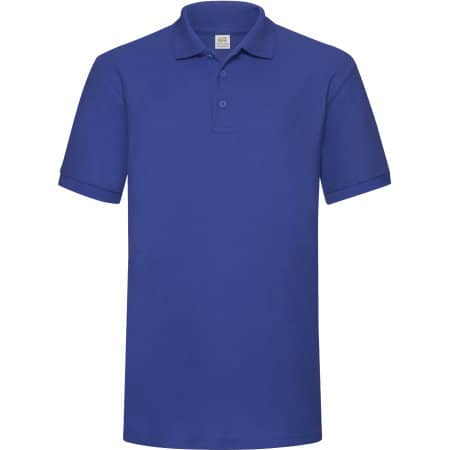 65/35 Heavy Piqué Polo in Royal Blue von Fruit of the Loom (Artnum: F503