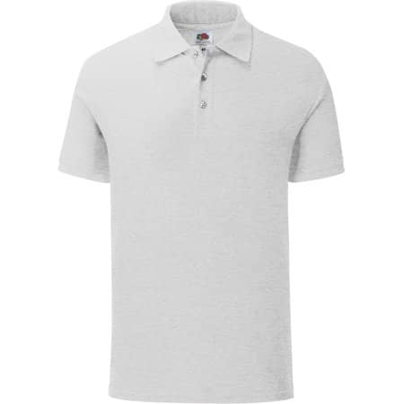 65/35 Tailored Fit Polo in Heather Grey von Fruit of the Loom (Artnum: F506