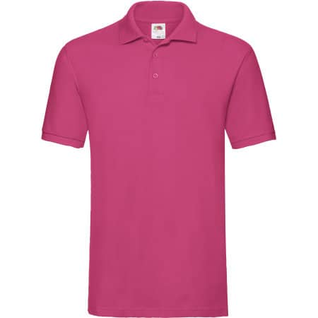 Premium Polo in Fuchsia von Fruit of the Loom (Artnum: F511N