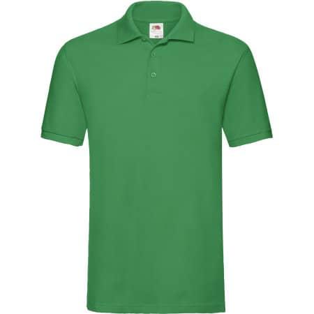 Premium Polo in Kelly Green von Fruit of the Loom (Artnum: F511N
