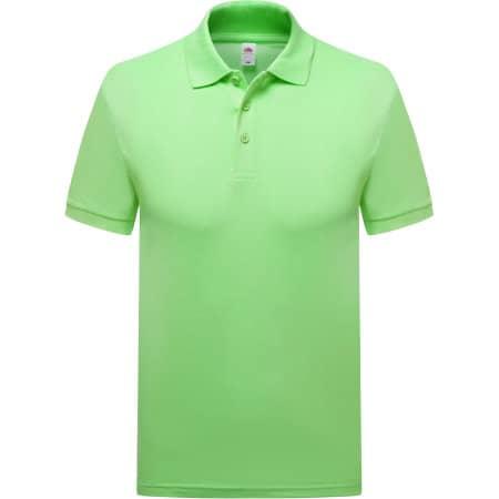 Premium Polo in Lime von Fruit of the Loom (Artnum: F511N