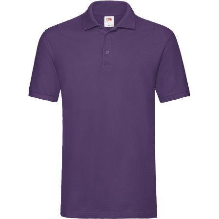 Premium Polo in Purple von Fruit of the Loom (Artnum: F511N
