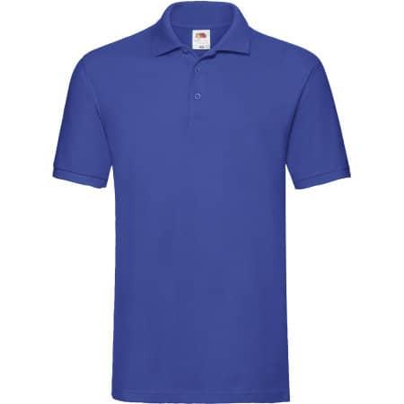 Premium Polo in Royal Blue von Fruit of the Loom (Artnum: F511N