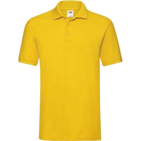 Premium Polo in Sunflower von Fruit of the Loom (Artnum: F511N