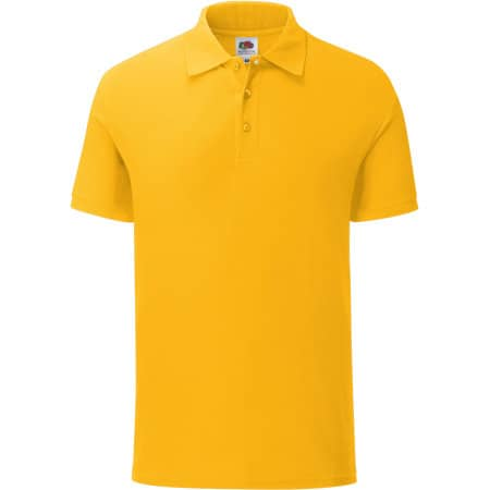 Iconic Polo in Sunflower von Fruit of the Loom (Artnum: F512