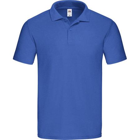 Original Polo in Royal Blue von Fruit of the Loom (Artnum: F513