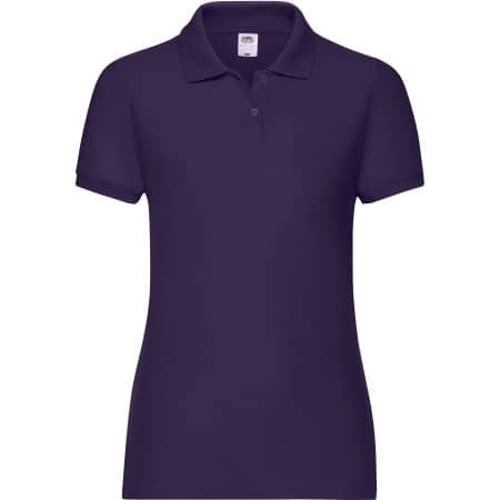 65/35 Polo Lady-Fit in Purple von Fruit of the Loom (Artnum: F517