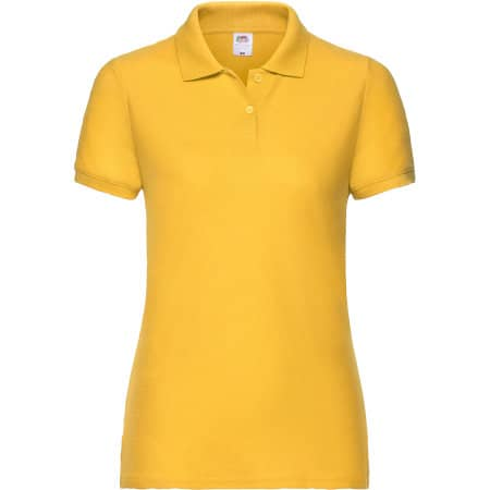 65/35 Polo Lady-Fit in Sunflower von Fruit of the Loom (Artnum: F517