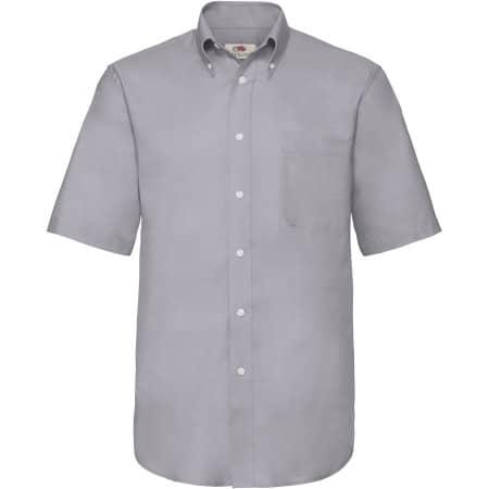 Men`s Short Sleeve Oxford Shirt von Fruit of the Loom (Artnum: F601