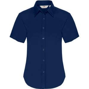 Short Sleeve Oxford Shirt Lady-Fit