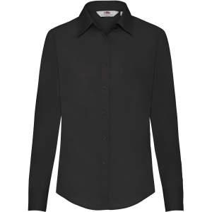 Long Sleeve Poplin Shirt Lady-Fit
