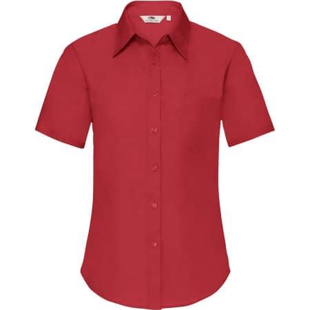 Short Sleeve Poplin Shirt Lady-Fit von Fruit of the Loom (Artnum: F703