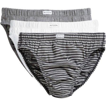 Classic Slip (3 Pair Pack) von Fruit of the Loom Underwear (Artnum: F990