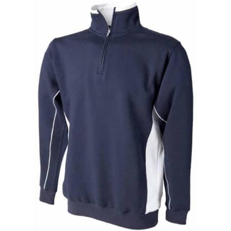 1/4 Zip Sweatshirt von Finden+Hales (Artnum: FH338