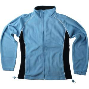 Ladies` Piped Microfleece