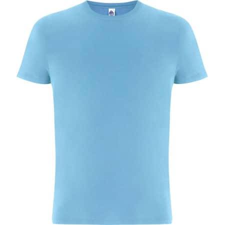Fairshare Fairtrade Organic Unisex T-Shirt in Aquamarin von Continental Clothing (Artnum: FS01