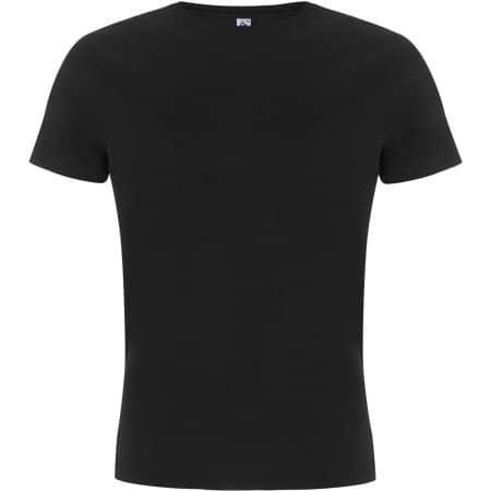 Fairshare Fairtrade Organic Unisex T-Shirt in Black von Continental Clothing (Artnum: FS01