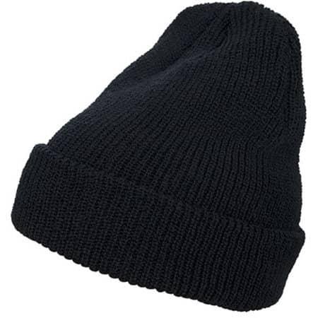 Long Knit Beanie in Black von FLEXFIT (Artnum: FX1545K
