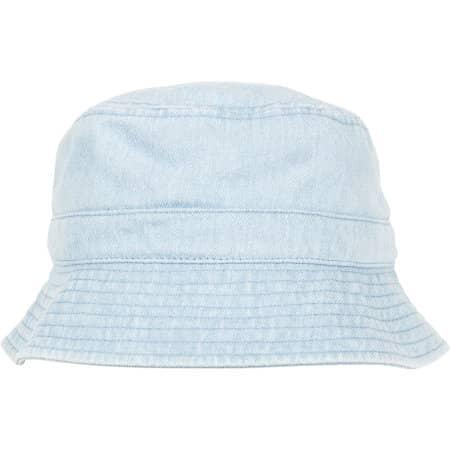 Denim Bucket Hat von FLEXFIT (Artnum: FX5003DB