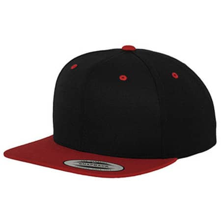Classic Snapback 2-Tone in Black|Red von FLEXFIT (Artnum: FX6089MT