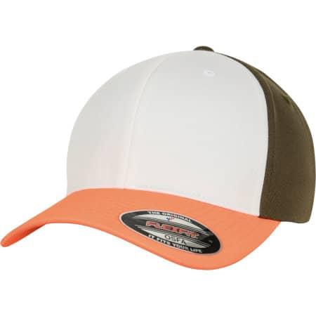3-Tone Flexfit Cap von FLEXFIT (Artnum: FX6277TT