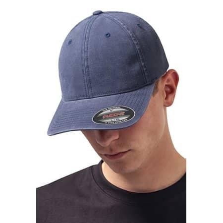 Garment Washed Cotton Dad Hat von FLEXFIT (Artnum: FX6997