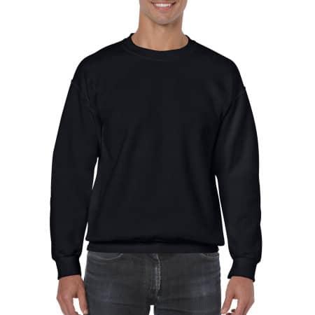 Heavy Blend™ Crewneck Sweatshirt in Black von Gildan (Artnum: G18000