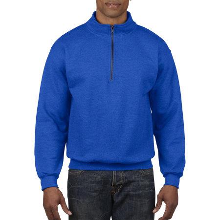 Heavy Blend™ Vintage 1/4 Zip Sweatshirt in Royal von Gildan (Artnum: G18800
