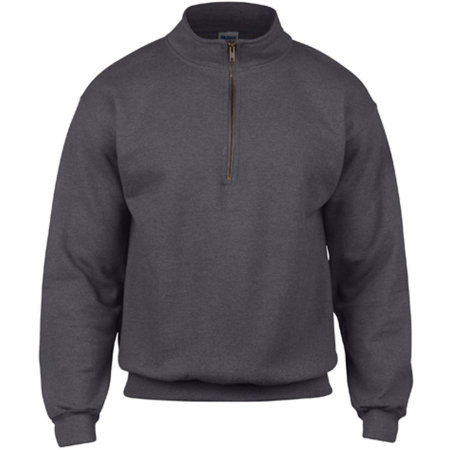 Heavy Blend™ Vintage 1/4 Zip Sweatshirt in Tweed (Heather) von Gildan (Artnum: G18800