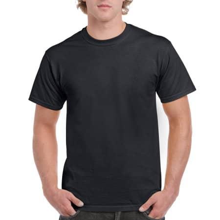 Ultra Cotton™ T-Shirt in Black von Gildan (Artnum: G2000