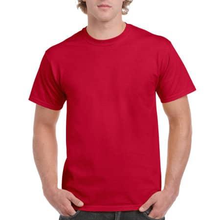 Ultra Cotton™ T-Shirt in Cherry Red von Gildan (Artnum: G2000