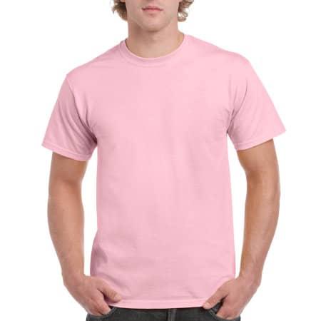 Ultra Cotton™ T-Shirt in Light Pink von Gildan (Artnum: G2000