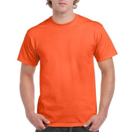 Ultra Cotton™ T-Shirt in Orange von Gildan (Artnum: G2000