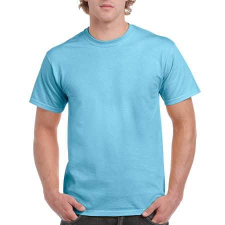 Ultra Cotton™ T-Shirt in Sky von Gildan (Artnum: G2000