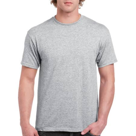 Ultra Cotton™ T-Shirt in Sport Grey (Heather) von Gildan (Artnum: G2000