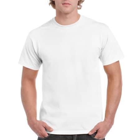 Ultra Cotton™ T-Shirt in White von Gildan (Artnum: G2000