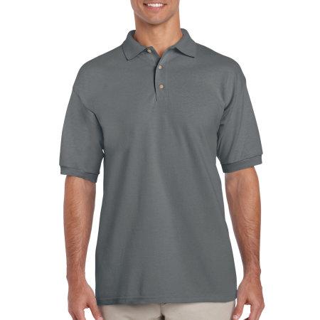 Ultra Cotton™ Piqué Polo in Charcoal (Solid) von Gildan (Artnum: G3800