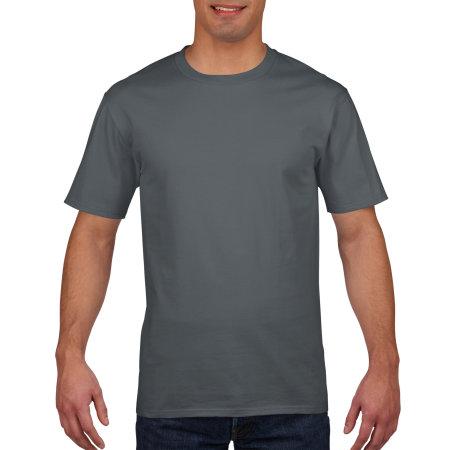 Premium Cotton® T-Shirt in Charcoal (Solid) von Gildan (Artnum: G4100