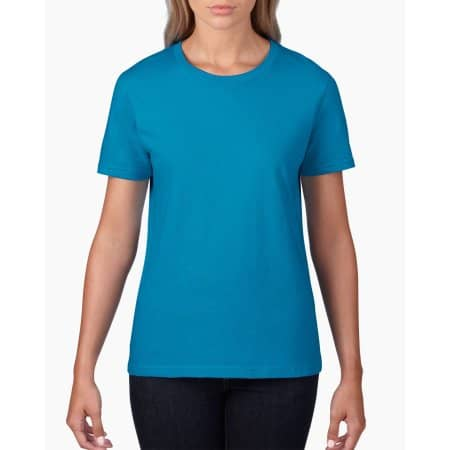 Premium Cotton® Ladies` T-Shirt von Gildan (Artnum: G4100L