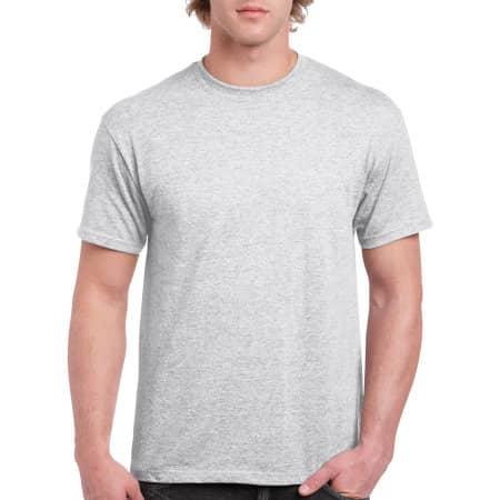 Heavy Cotton™ T- Shirt in Ash Grey (Heather) von Gildan (Artnum: G5000