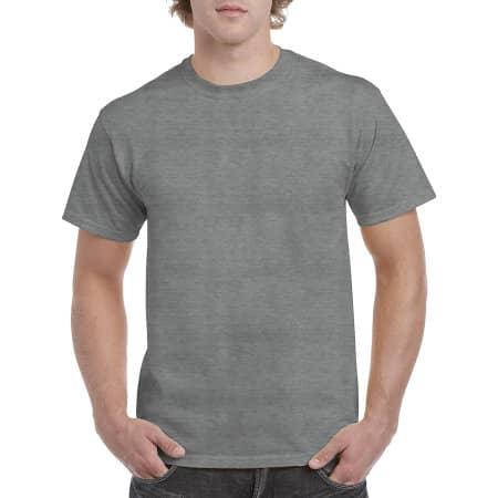 Heavy Cotton™ T- Shirt in Graphite Heather von Gildan (Artnum: G5000